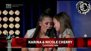 Download Vocea Romaniei Junior - Finals (Karina & Nicole Cherry - Cuvintele Tale)