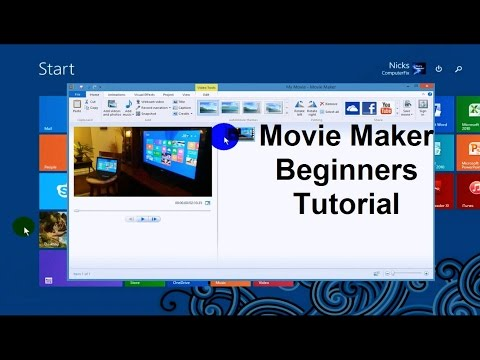 Windows Movie Maker Tutorial - Tips & Tricks & How To's - Video Editing Software Free - 2015 Full