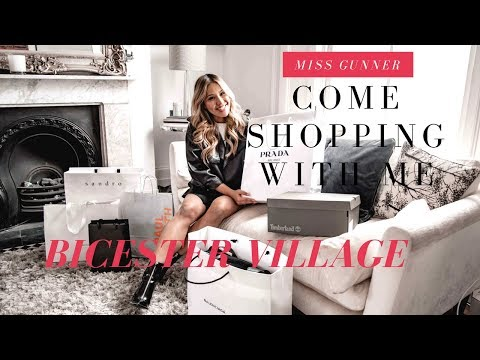 Come Shopping With Me, Luxury Haul At Bicester Village, Prada, Balanciaga, Acne Studio and more!