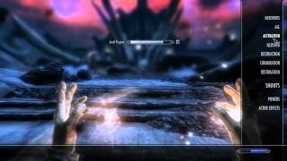 Skyrim Killing Alduin And Finishing The Main Quest Lets Play A Mage 37