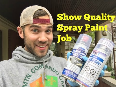 Paint New Body Panels with Spray Cans