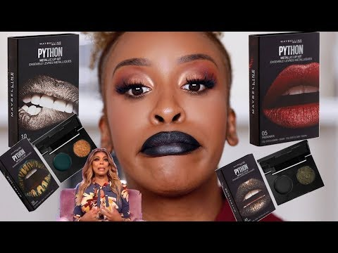 Maybelline Lip Pythons?! Watch This Video First | Jackie Aina
