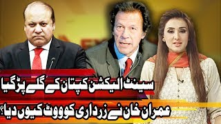 Who ordered Imran Khan to vote for Zardari - Express Experts 23 April 2018 - Express News