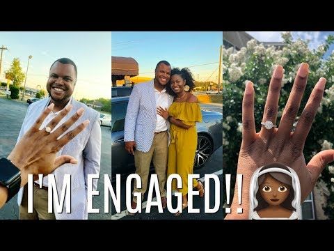 HE PUT A RING ON IT! Proposal Story + How We Met! | EiffelCurls