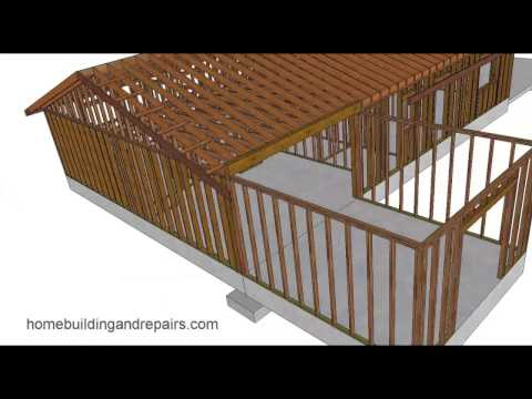 How to Install Flush Ceiling Beam for Framing Home Additions – Building Design
