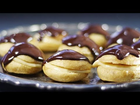 How to Make Gluten-Free Vegan Mini-Eclairs