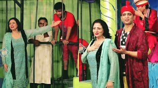 Amjad Rana and Abida Baig with Gudu Kamal New Stage Drama 2019 - Full Comedy Clip 2019