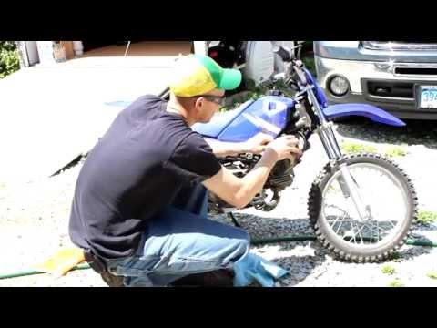 Yamaha TTR90 Air Box Mod High Performance Flow
