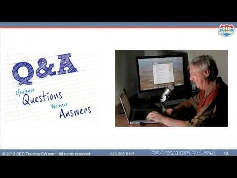 Analytics SEO Review - SEO Training