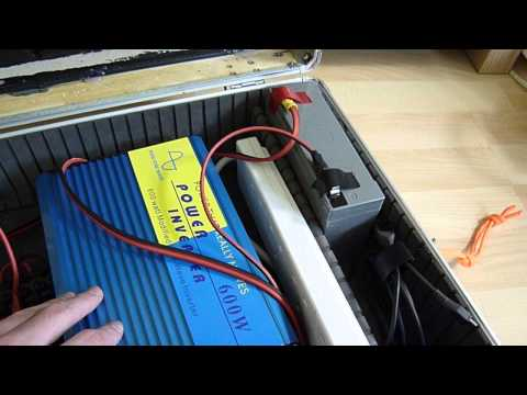 Portable Power Supply 600W 240V