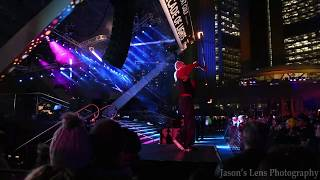 Cavalcade of Lights 2017 | Girl Fire Play Act | Nathan Phillips Square Toronto