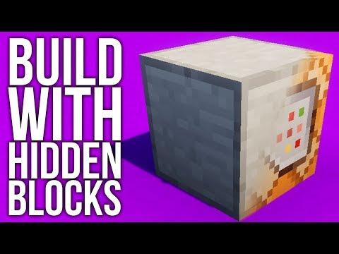 How to Build With Hidden Blocks in Minecraft
