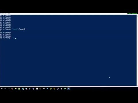 Get String Length with Powershell
