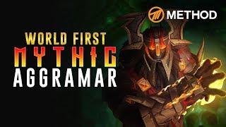 Method Vs Aggramar - World First Mythic Antorus The Burning Throne