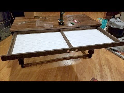 Drawer for nesting desk