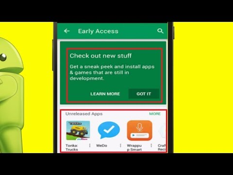 How to Check Upcoming Apps & Games in Google Playstore