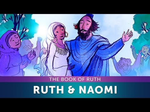 Sunday School Lesson for Children - Ruth and Naomi – Book of Ruth – Bible Teaching Stories for VBS