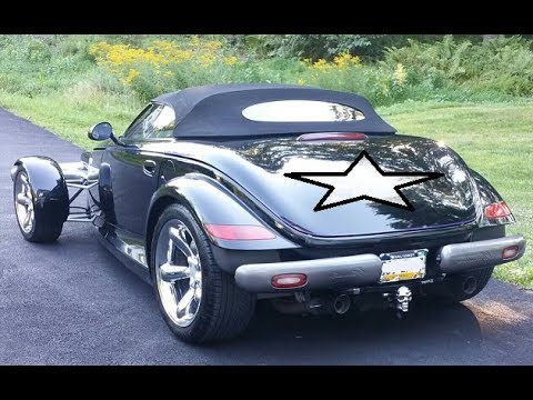 Plymouth / Chrysler Prowler Starter Location