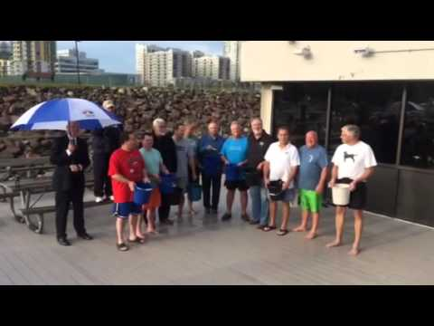 Stamford CT Umbrella Club Takes On The Ice Bucket Challenge