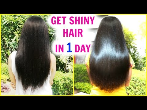 In 1 DAY Get Super Silky & Glossy Hair | DIY Hair Mask - Deep Conditioner | Anaysa