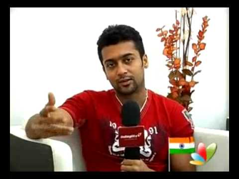 Surya explains about six packs for his fans