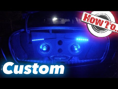 How to Build a Subwoofer Box / CUSTOM ENCLOSURE Time Lapse | No Fiberglass Needed!