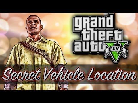 GTA 5 - Never Before Seen Car Location! (GTA 5 Secret Vehicle)