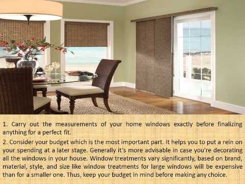 Choose the Right Designer Window Treatments for Your Home