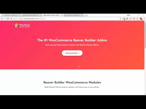 WooPack for Beaver Builder - a Walkthrough with Live Demo