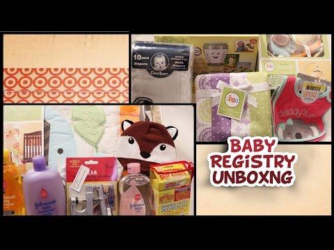Target Baby Registry Unboxing {Part 2}