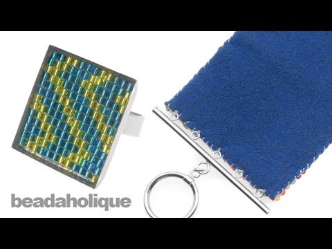 How to Finish and Back Bead Loom Weaving