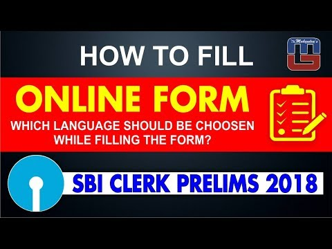 How To Fill SBI Clerk Prelims Online Form 2018 | Must Watch