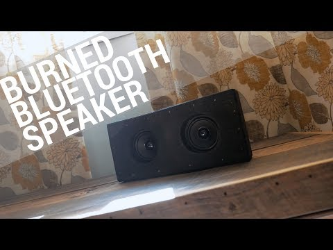 Quick Build - Burned Bluetooth Speaker