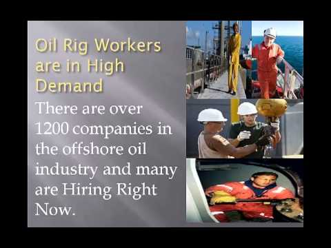 Offshore oil Rig Jobs - No experience required