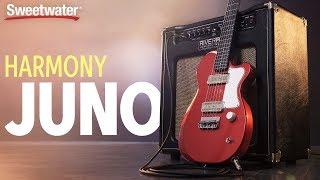 Harmony Juno Electric Guitar Demo