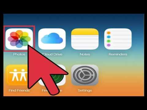 How to Access iCloud Photos iCloud Website