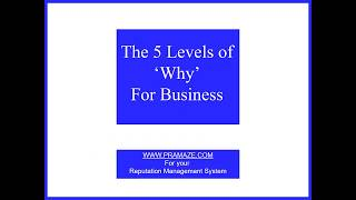 5 levels of 'WHY' in business - Why asking why could boost your profits