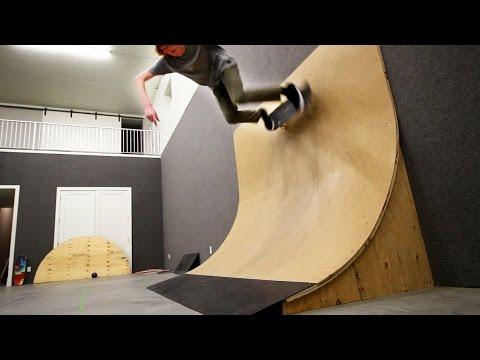 Skatepark Inside A House!!