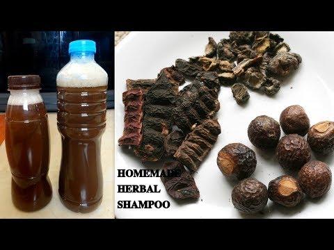 முடி உதிர்வை நிறுத்தும்  HERBAL SHAMPOO  செய்வது எப்படி   home made herbal shampoo