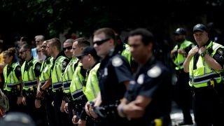 Lefty activists threated Portland parade