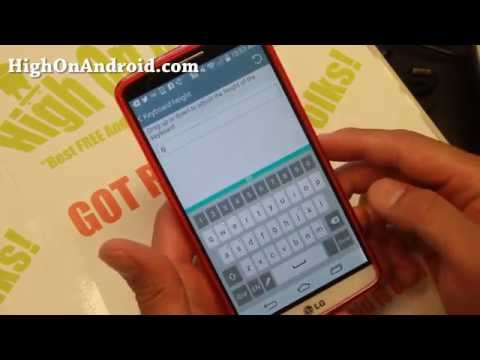 How to Install LG G3 Keyboard on Any Rooted Android!