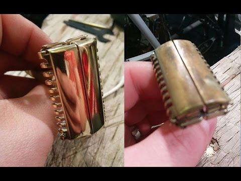 Gillette Safety Razor - Copper and Brass - Antique Restoration!
