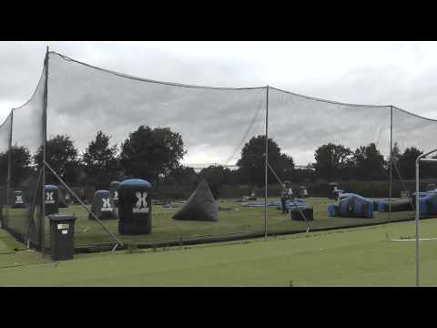 building a paintballfield in 1 minute and 10 seconds @ Sup Erp Paintball the Netherlands.