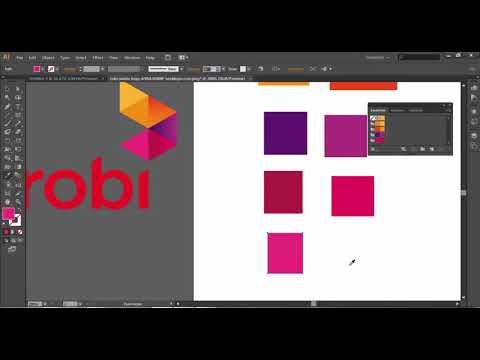 How To Create a Robi logo | Tutorial-বাংলা