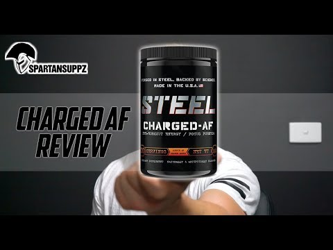 Steel Supplement - Charged AF Review (Stimulant) Pre Workout Review