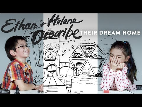 Ethan And Helena Solo Dream Home | Kids Describe | HiHo Kids