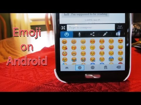 [How-To][Version 1] Emoji on Android
