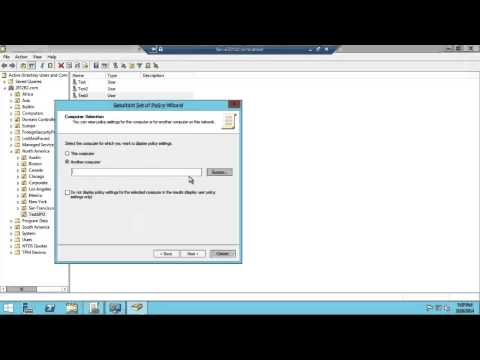 Windows Server 2012 R2 Troubleshooting Group Policies