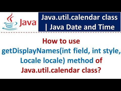 How to use getDisplayNames(int field, int style, Locale locale) method of Java.util.calendar class