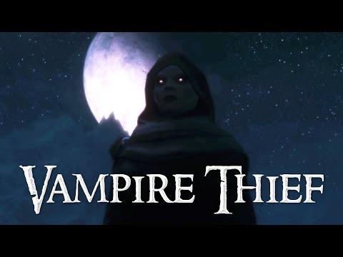 The Vampire Thief - Skyrim Stealth Gameplay - Windhelm City